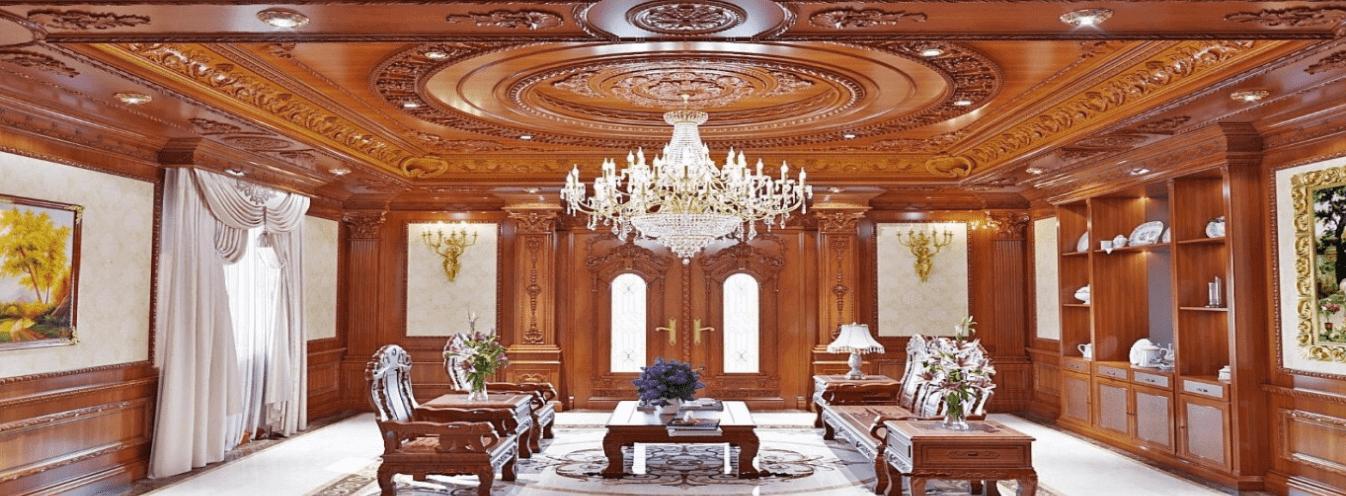 Vinaduy trần gỗ